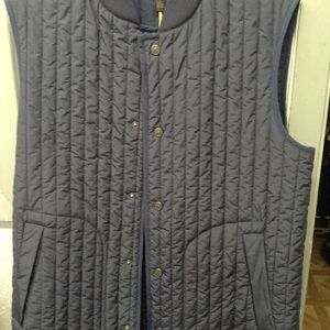 Canali Puffer Blue Down Vest NWT